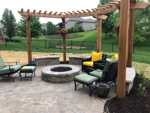 Image of a paver patio in Denver